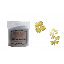 Embossing powder. Color Golden mirror