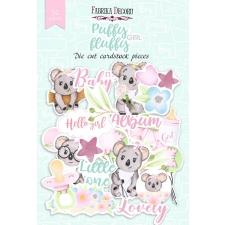 "Набор высечек, коллекция ""Puffy Fluffy Girl"", 52 шт"
