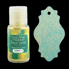 "Dry paint ""Magic paint with effect"" color ""Malachite casket "", 15ml"