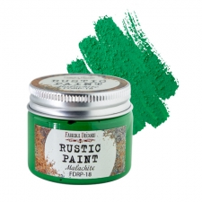 Rustic paint. Color Malachite