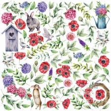 "Decorative sheet for cutting ""Summer Mood"""
