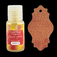 "Dry paint ""Magic paint with effect"" color ""Scarlet sunset"", 15ml"