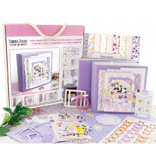 Set for creating a baby girl photo album #002