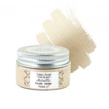 Metallic paint Nude beige 30 ml