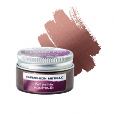 Metallic chameleon paint. Color Burgundy