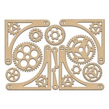 MDF dekoratiivelementide komplekt #194