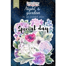 "Set of die cuts ""Night Garden"", 63 pcs"