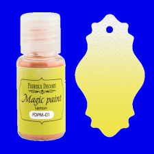 "Dry paint ""Magic paint"" color ""Lemon"", 15ml"