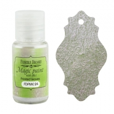 "Dry paint ""Magic paint with effect"" color ""Frosted Leaves"", 15ml"