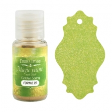"Dry paint ""Magic paint with effect"" color ""Golden Spring"", 15ml"