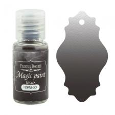 """Сухая краска """"Magic paint"""" цвет """"Нейтральный черный"""", 15мл"""