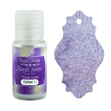 "Dry paint ""Magic paint with effect"" color ""Purple Crystal"", 15ml"