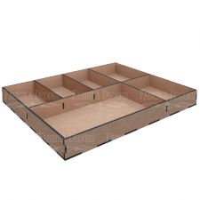 MixBox Organizer 6 cells 30х30x3,3cm