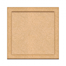 Art board Square 25х25cm + support