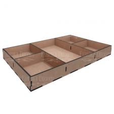 MixBox Organaiser 5 lahtriga 18x30x3,3cm