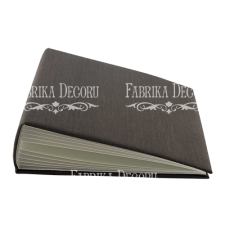 "Blank album with a soft fabric cover ""Coffee"" - kraft brown"