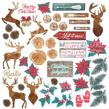 "Decorative sheet for cutting ""Christmas Fairytales"""