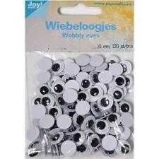 Wobbly wiggle eyes 10mm