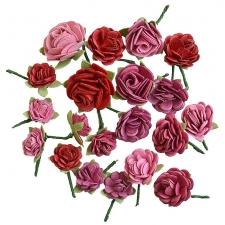 Pink Roses - 20pcs