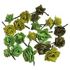 Green Roses - 20pcs