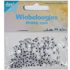Wobbly wiggle eyes 4mm