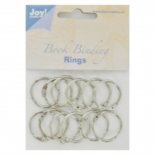 Bookbinder rings 25mm 12pcs