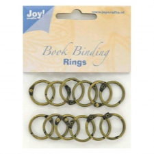 Bookbinder rings 20mm 12pcs
