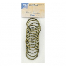 Bookbinder rings 40mm 12pcs