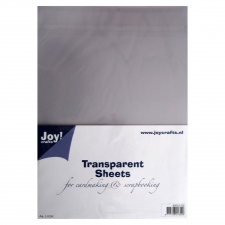 Transparent acetate sheets A4 5pcs