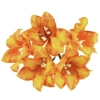 50 ORANGE MULBERRY PAPER LILY FLOWERS.jpg