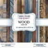 "Double-sided scrapbooking paper set ""Wood natural"", 12""x 12"" , Fabrika Deсoru"