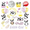 "Double-sided scrapbooking paper set ""My little baby girl"",  8""x 8"" , Fabrika Decoru"